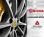Auto Delta passa a comercializar produtos Brembo