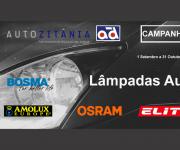 Autozitânia lança campanha de lâmpadas auto